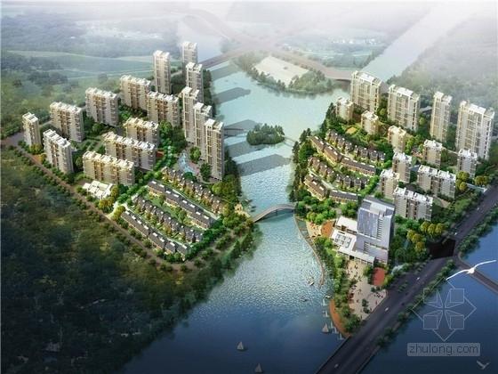 [浙江]现代风格住宅小区规划设计方案文本(含办公楼 3个地块设计)