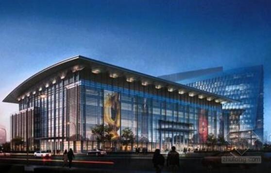 [浙江]国际会展中心钢结构屋面光伏一体工程施工组织设计(附图多)