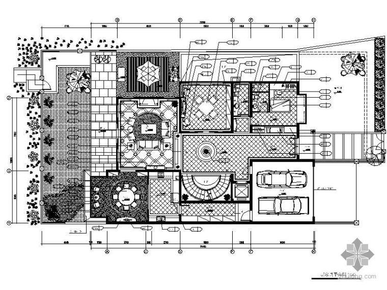 [上海]某知名别墅装修图E户型
