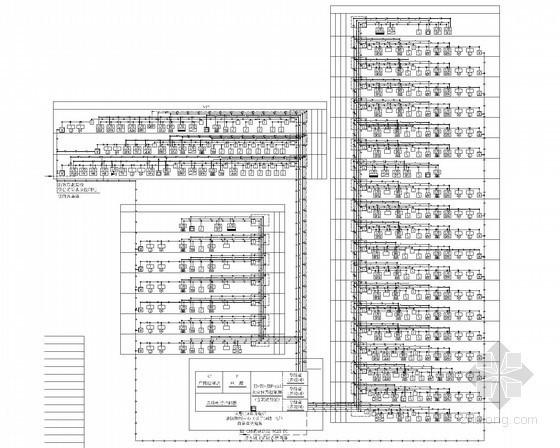 [重庆]高层公共建筑照明配电及火灾自动报警系统施工图