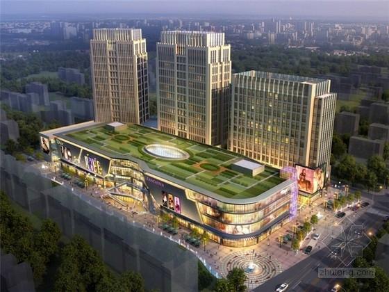 [陕西]现代综合商业街区扩初设计方案文本
