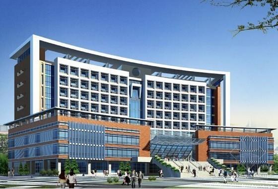 [南京]办公楼安装工程量计算及预算书实例(附工程量计算表格及图纸)