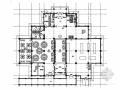 [唐山]风光旖旎度假村新中式风格餐饮楼装修施工图(含效果)