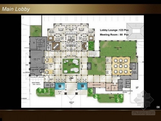 [三亚]世界奢华五星级别墅型酒店全套方案图