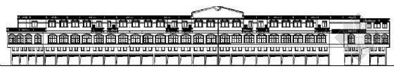 欧式三层办公楼建筑方案
