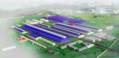 定西某铝厂施工组织设计