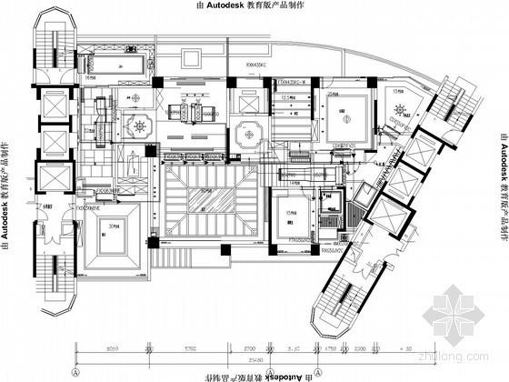 [深圳]别墅VRV空调系统设计图纸