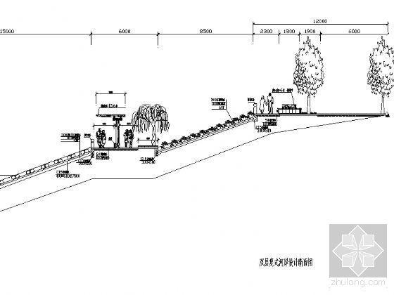 双层复式河岸设计