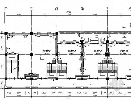 [河北]多层商业住宅楼散热器热水采暖系统设计施工图