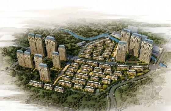[上海]新中式风格高层住宅建筑设计方案文本