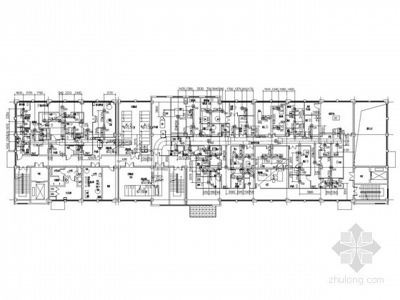 [安徽]医院综合楼净化空调系统设计施工图(水源热泵)