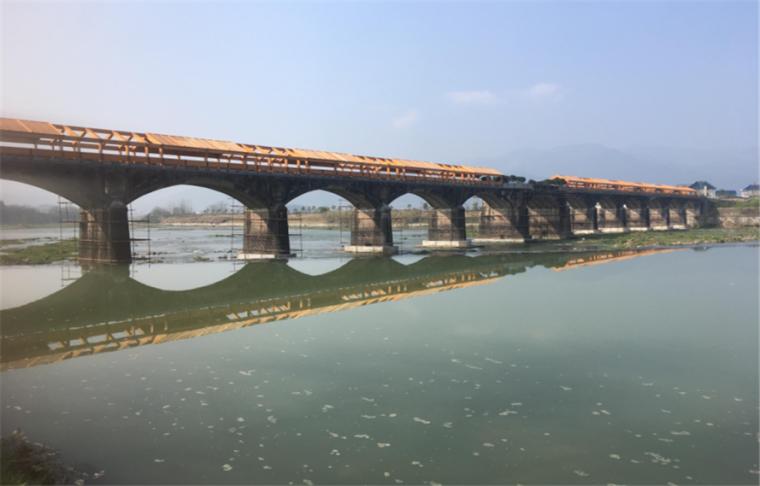 浙江松阳旅游景点木结构装配建筑之石门圩木结构廊桥