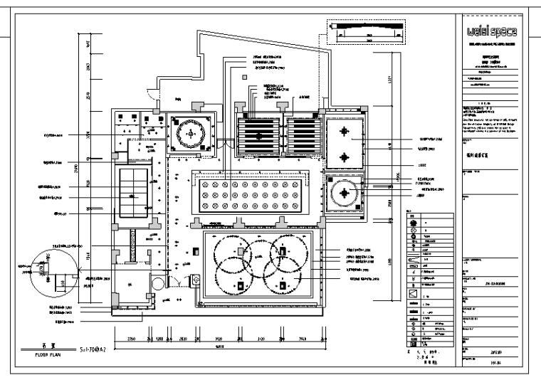郎雅汇主题餐厅混搭风格室内装修设计施工图