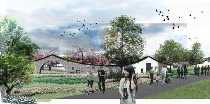 [湖北]滨水山林农庄科技创新园区田园综合体景观设计方案(2017最新)