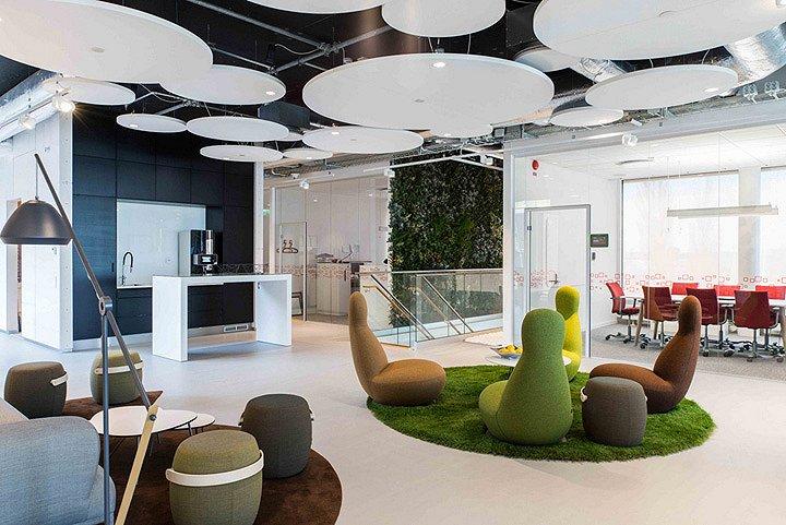 地产公司Riksbyggen办公空间-1