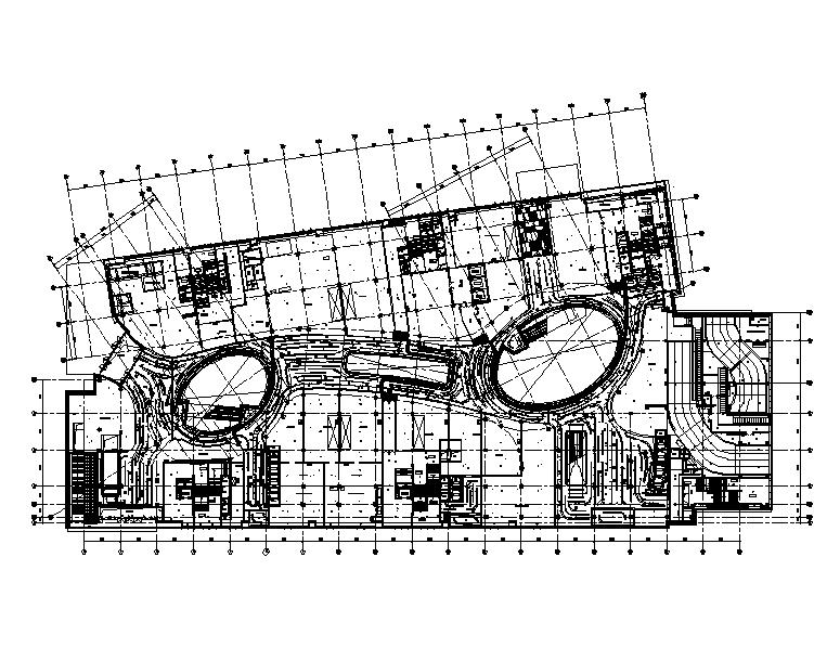 上海金融中心大型高级商业中心暖通施工图(CAD+PDF)