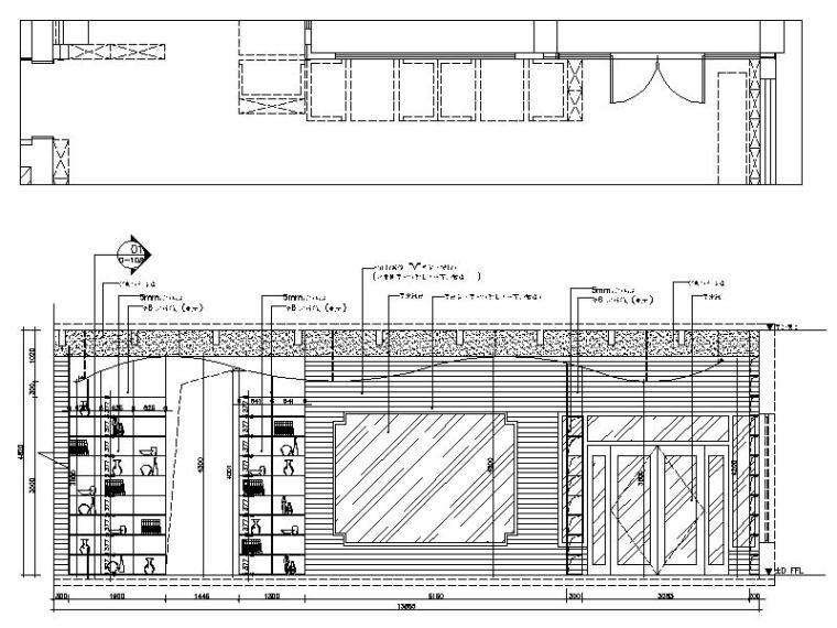 [新疆]富有文化气息而又时尚鲜活的餐厅设计施工图(含效果图)_7