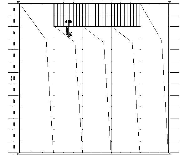 门式刚架结构施工图(CAD,6张)