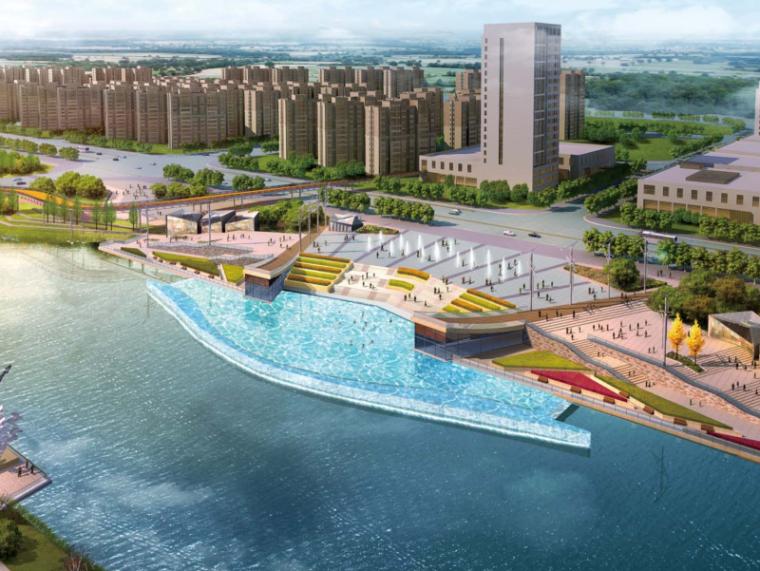 [河南]郑州梅河景观河道规划设计(PDF+128页)-效果