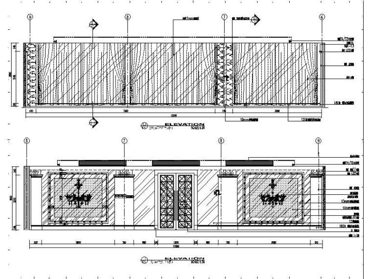 [苏州]某知名集团旗下时尚休闲会所室内设计施工图_9