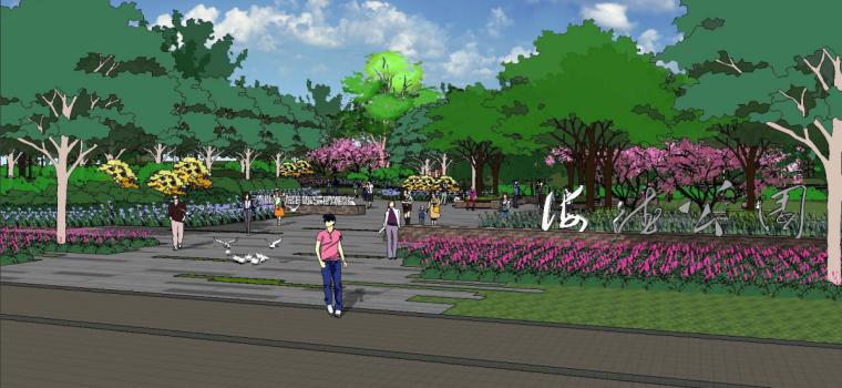 [河北]固安海德公园景观概念方案设计_11