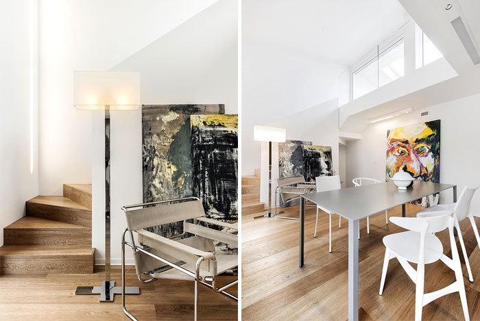 意大利:充满艺术感的极简住宅_5