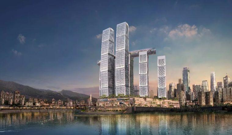 """中国又一""""举世无双""""的地标建筑 —— 重庆来福士"""