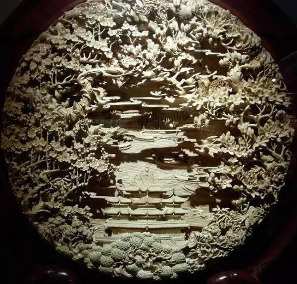 雕花,中国古建筑的浪漫
