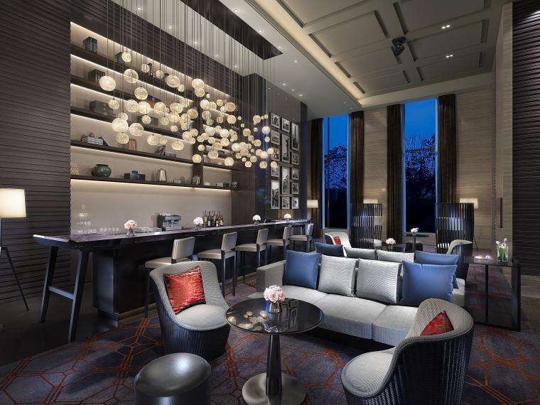 像素:3000*2250   备注:2013版本3d  主题时尚酒店室内设计效果图图片