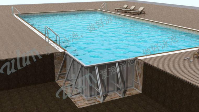 论池体选择在泳池建造中的重要性