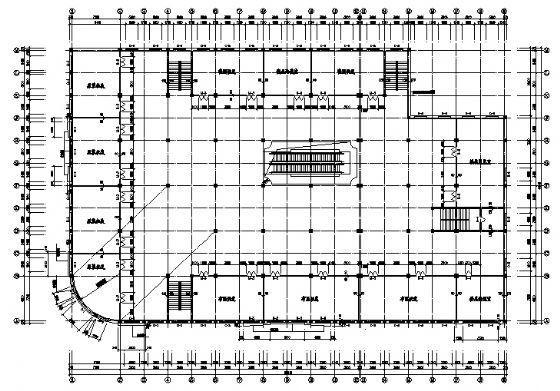 四层商场建筑施工图-3