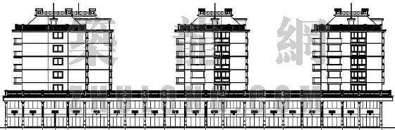 某住宅楼建筑设计方案图-2