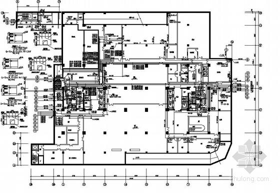 某高层办公楼给排水施工图纸和计算书