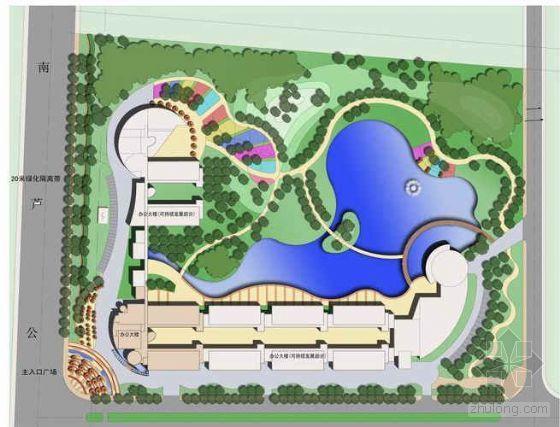某高科技园区建筑及景观设计方案
