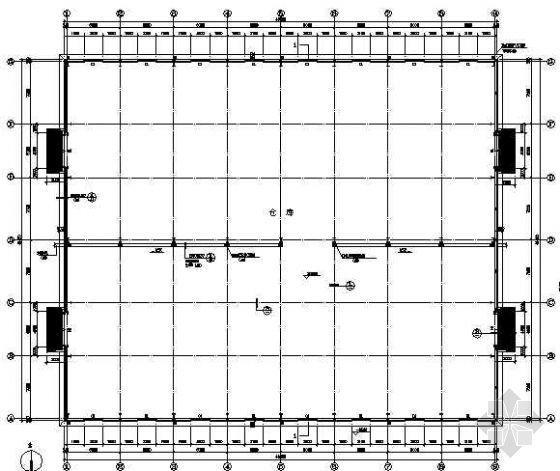 某公司车间钢结构图纸