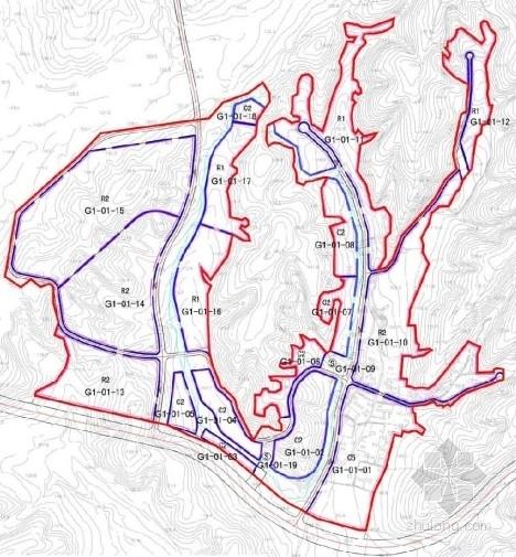 住宅区分析图