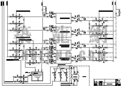 某超五星级酒店空调水系统流程图