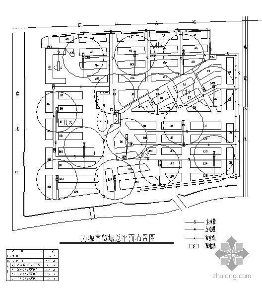江苏某大型园林式仿古建筑商贸城施工组织设计(争创鲁班奖)