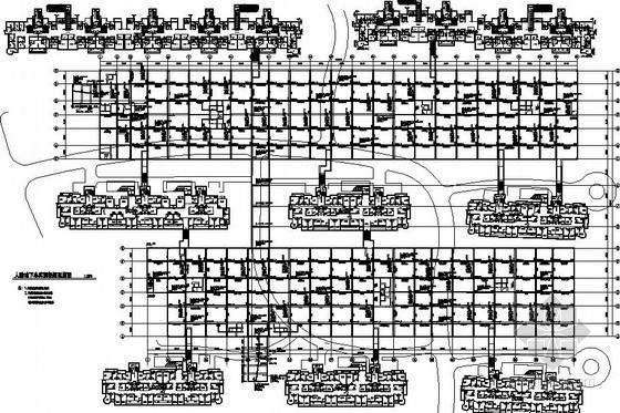 [银川]框架人防地下室结构设计图