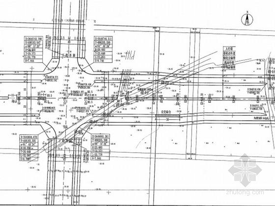 [安徽]双向八车道道路工程施工图设计(含交通工程)