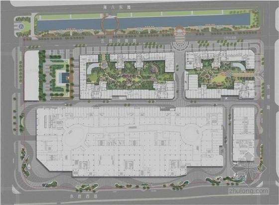 [广东]特色武术主题广场景观规划设计方案(知名置业公司)-总平面图