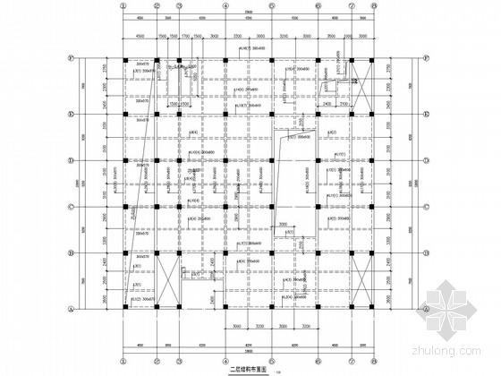 五层框架办公楼结构施工图(预应力管桩)