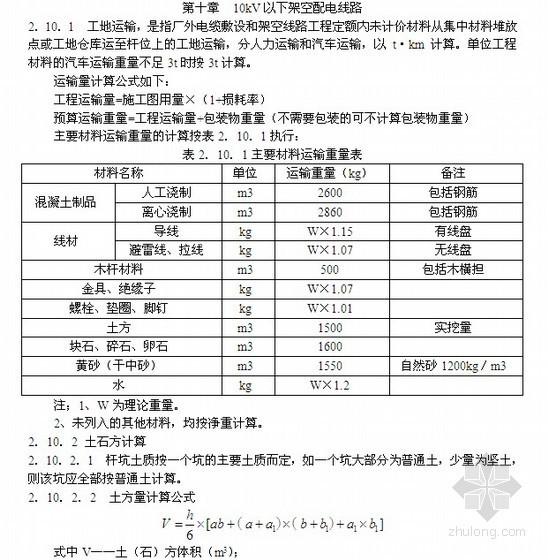 [广东]2010版安装工程综合定额说明及计算规则(第二册电气设备安装工程)