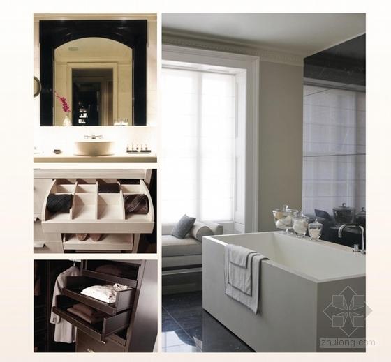 [上海]精品奢华雅致古典风格宾馆室内装饰设计方案-[上海]奢华雅致古典风格宾馆室内装饰设计方案客房意向图