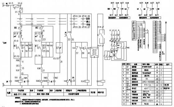 深圳某外资电子厂10万级净化车间水电图纸