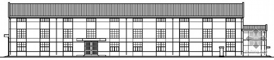 某钢结构单层厂房建筑结构施工图