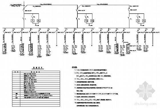 园林景观照明系统图