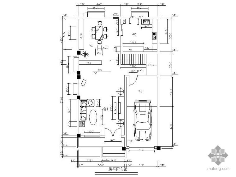 [学生作品]某三层别墅设计方案