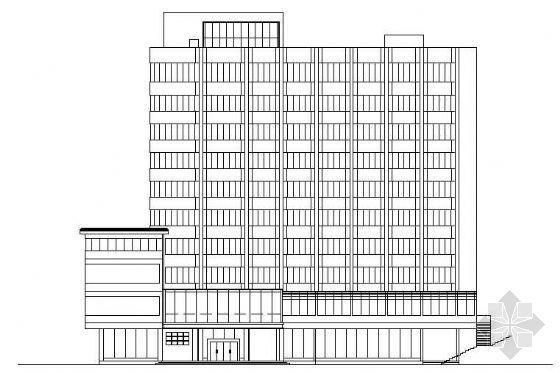 某市十一层宾馆改造为医院建筑设计方案