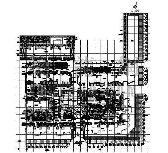 滨江·金谷翠庭景观设计平面图